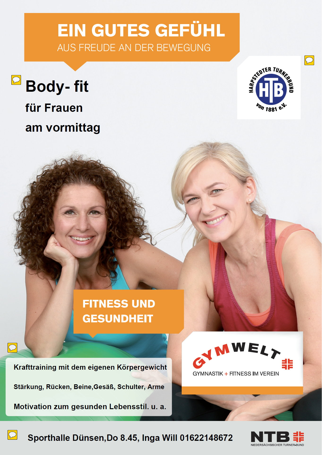 Body fit fuer Frauen